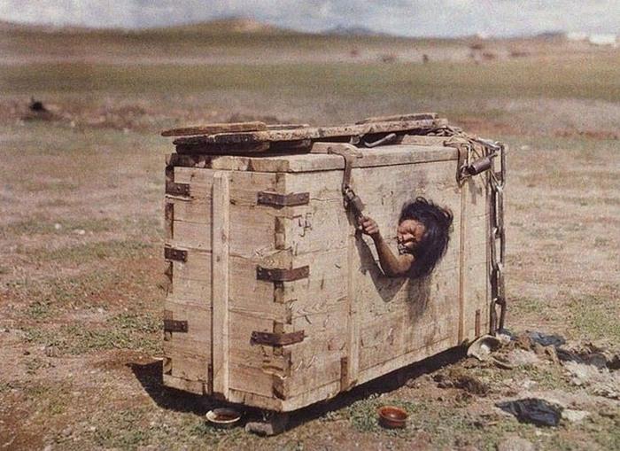 Наказание по-монгольски.