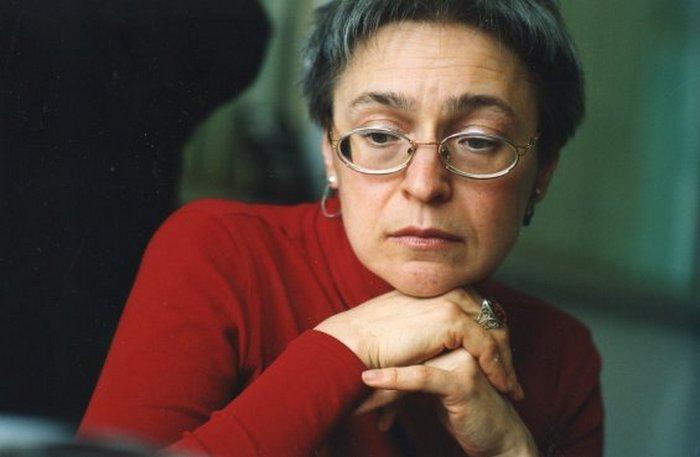 Журналистка Анна Политковская.