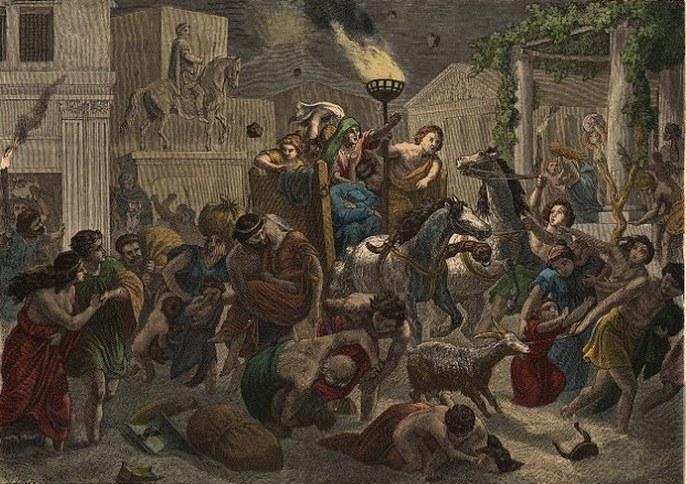 Трагедия в Помпеях.