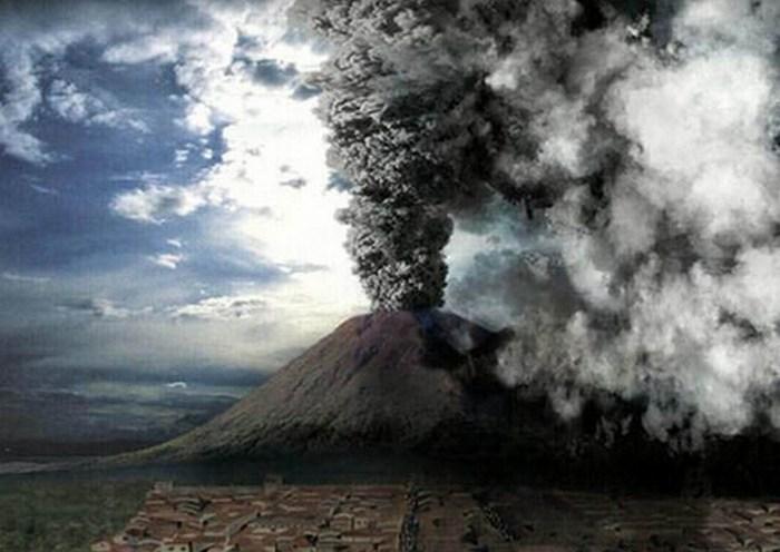 Последствия извержения.