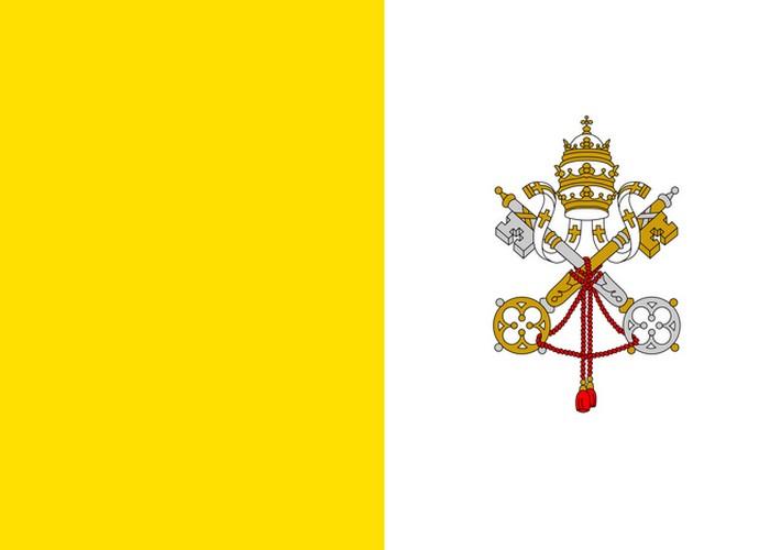 Флаг Ватикана.