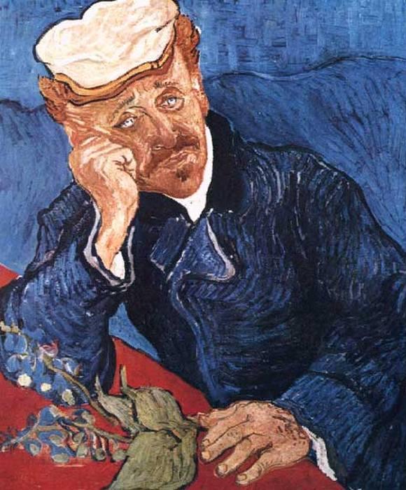 Портрет доктора Гаше. Второй вариант.