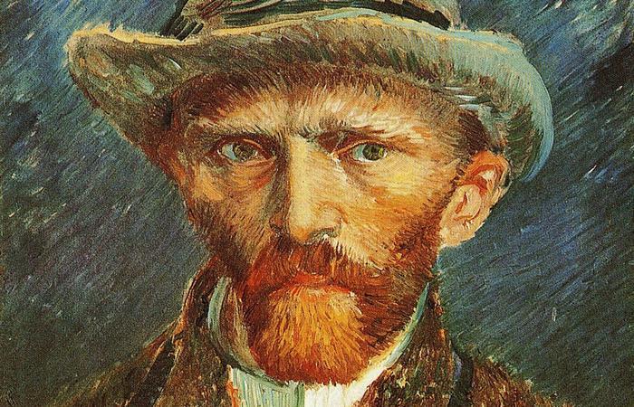 Автопортрет Винсента Ван Гога.