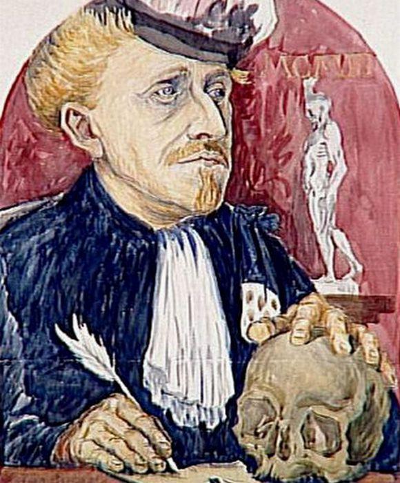Эмиль Бернар также написал портрет Гаше.