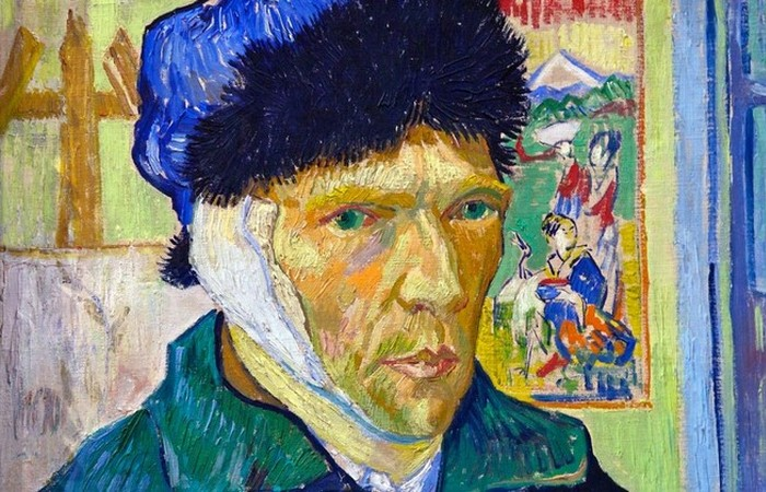 Автопортрет Ван Гога.
