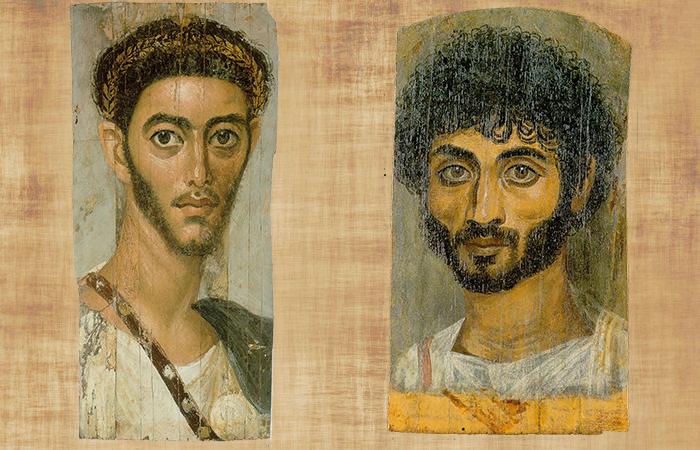 Фаюмские портреты.