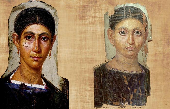 Фаюмские портреты посмертные изображения современников Христа  Фаюмские портреты
