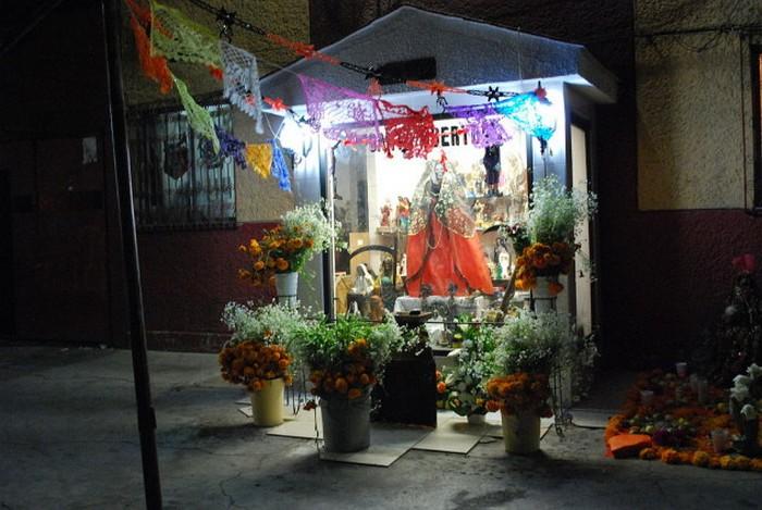 Санта Муэрте - культ мексиканских преступников.
