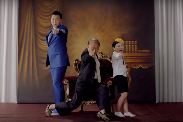 Интернет взорвал новый клип южнокорейского певца PSY.
