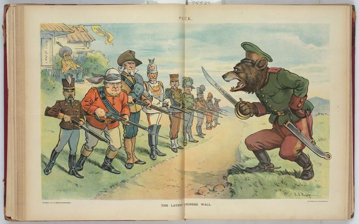 Россия против Японии, Англии, США, Германии, Франции и др.: «Новая Великая китайская стена»