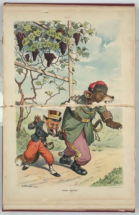 Союз Японии и Англии не по вкусу русскому медведю и французскому лису: «Кисловаты ягодки!»