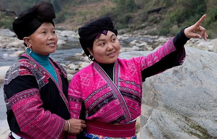 Женщины этнической группы Яо.