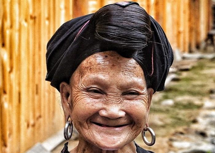 У жительниц Хуанлу нет седины до глубокой старости.