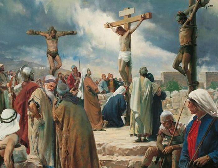 На кресте распинали гомосексуализм