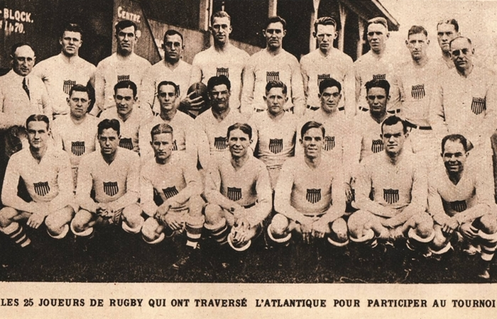 Олимпийский регби.1920 год. | Фото: ru.wiki2.org