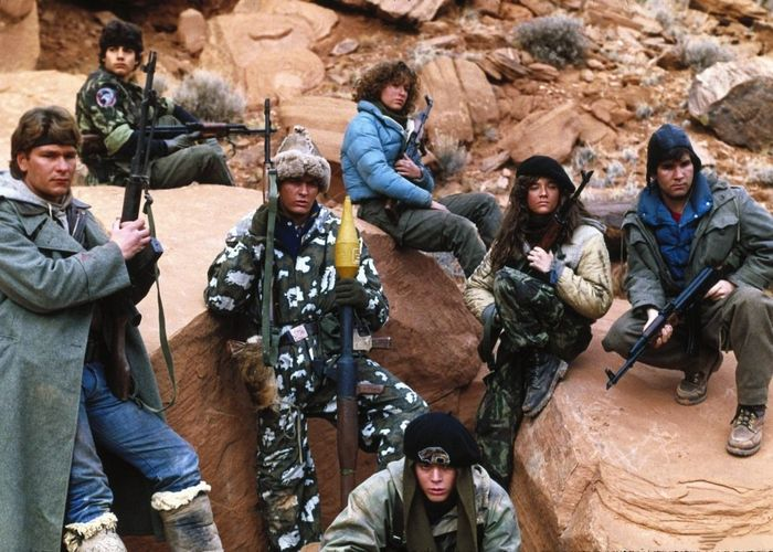 Кадр из фильма «Красный рассвет»./фото: kinozon.tv