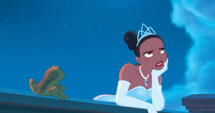 Принцесса и лягушка.