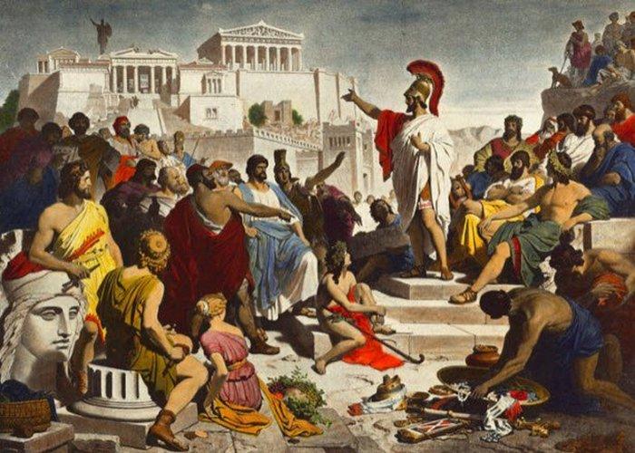 Миграционный кризис Древних Афин. / Фото: listverse.com