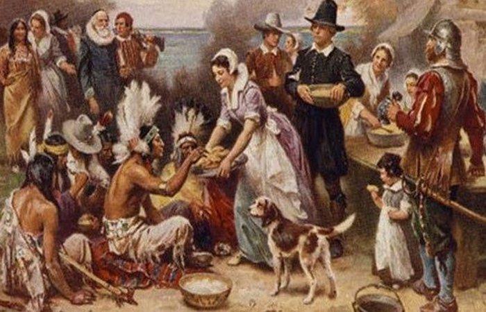 Миграционный кризис: британские Паломники. / Фото: listverse.com