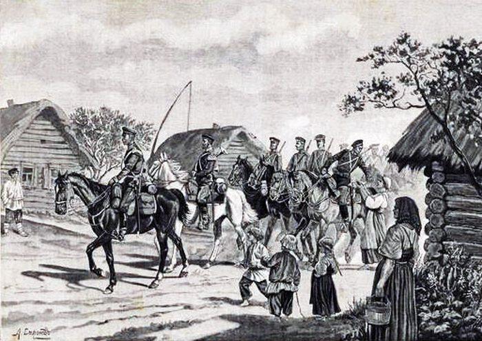 Забритые в рекруты: как Пётр I Из крестьян солдат делал