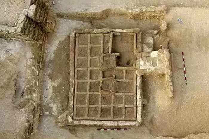 Религиозный артефакт: погребальный сад Луксора.