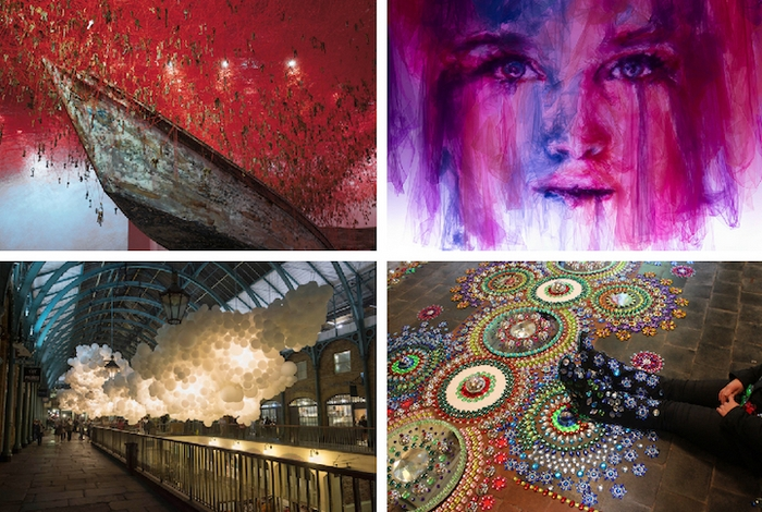 Креативные художественные инсталляции.