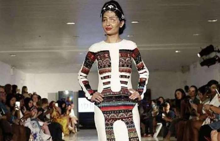 Решма Куреша - звезда Недели моды в Нью-Йорке.