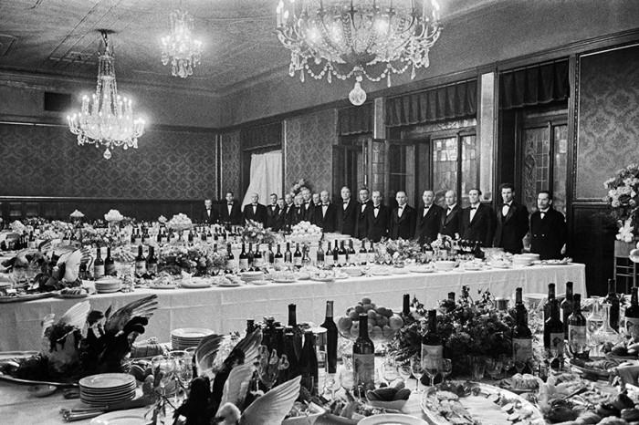 Прием в «Метрополе», 1945 год