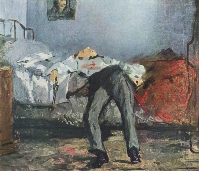 «Самоубийство», картина Эдуарда Мане.