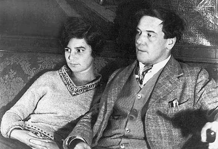 Петр Капица и Анна Крылова.