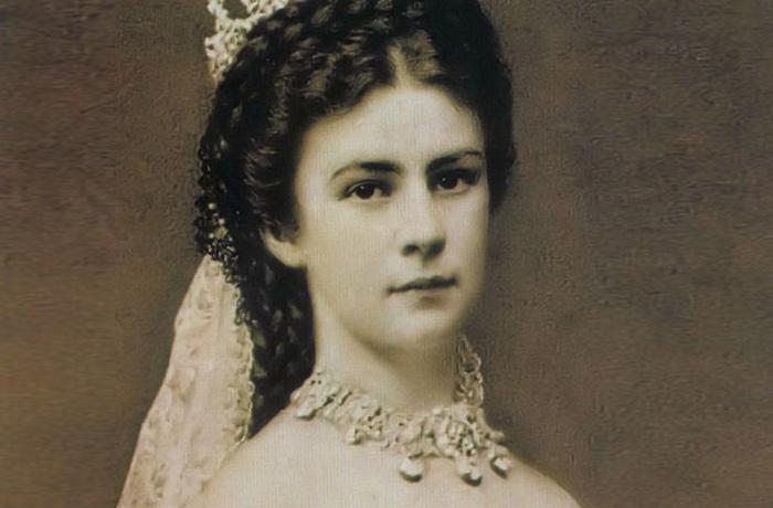 Императрица Австрии Елизавета.