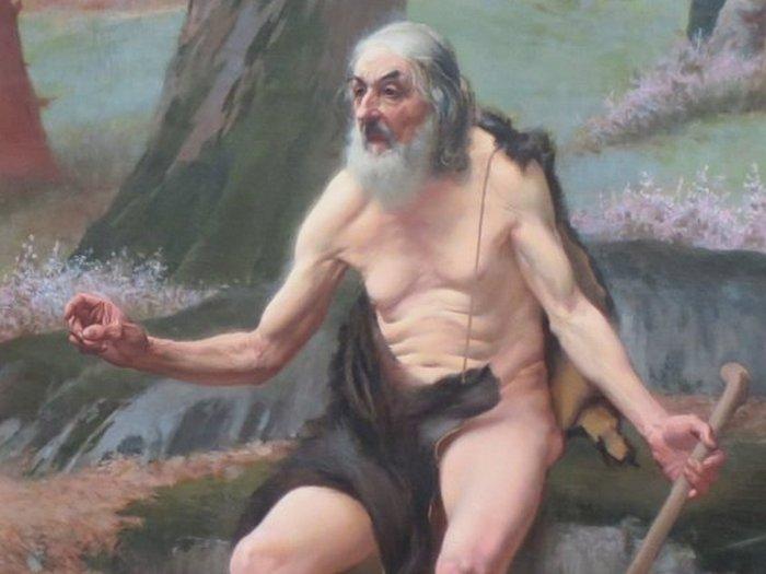 Филит Косскии умер от недоедания и бессонницы.