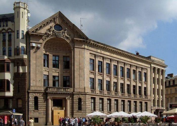 Банк в Риге, проект Пауля Мандельштама, 1913 год.