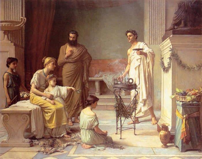 Римская семья.