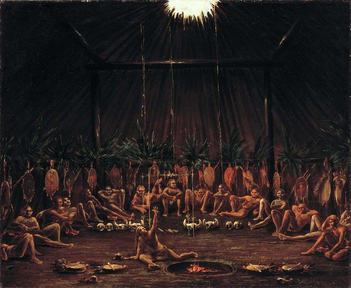 Мандан — церемония с пытками.