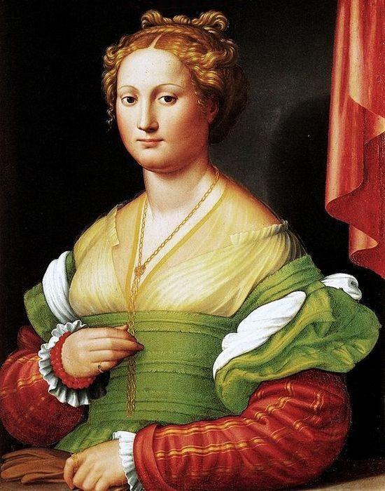 Роза Ваноцци - первая красавица и возлюбленная Александра VI Борджиа ./фото: kathrynrblake.com