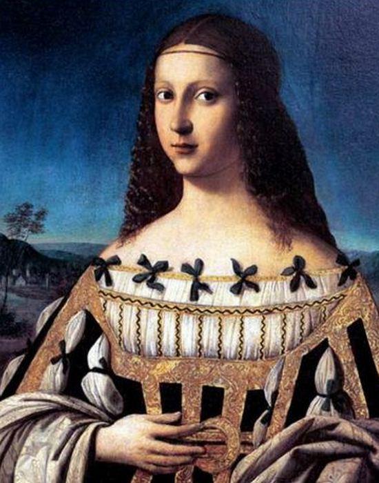 Портрет дамы работы Венето (вероятный портрет Лукреции Борджиа). / Фото: qguys.com