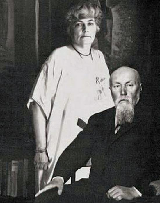 Николай и Елена Рерих: всегда вместе. / Фото: contur.ucoz.ru