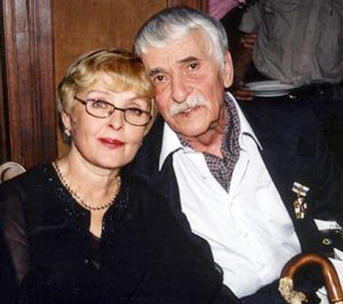 Ада Роговцева и Константин Степанков. / Фото: www.obzor.lt