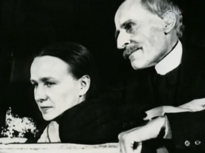 Ромен Роллан и Мария Кувилье-Кудашева.