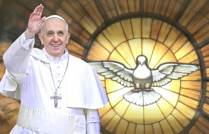 Понтифик Франциск./ фото:marionetki.net