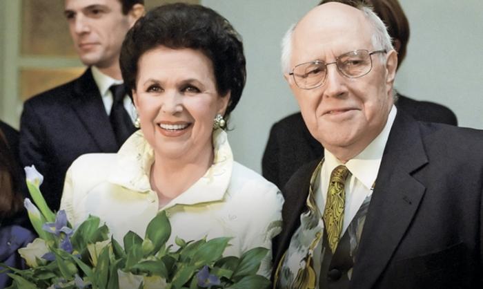 Мстислав Ростропович и Галина Вишневская: любовь с первого взгляда и на всю жизнь.