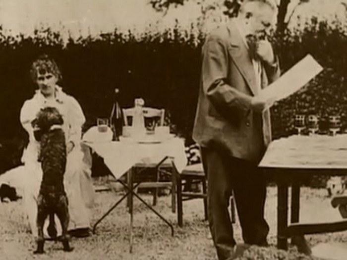 Огюст Роден и Камилла Клодель.