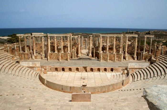 Руины Древнего Карфагена.