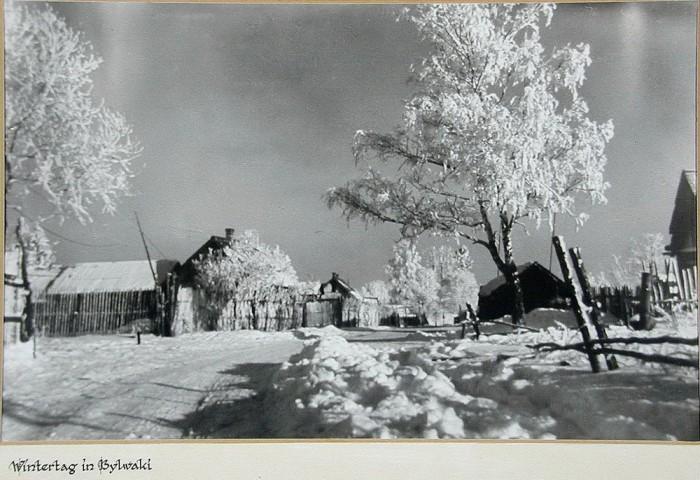 Русская зима в Калужской области.