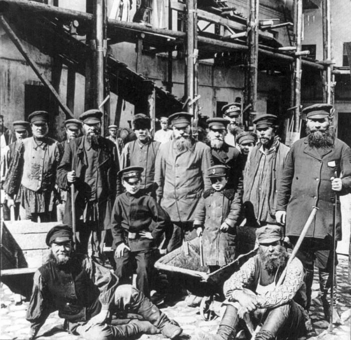 Московские рабочие.