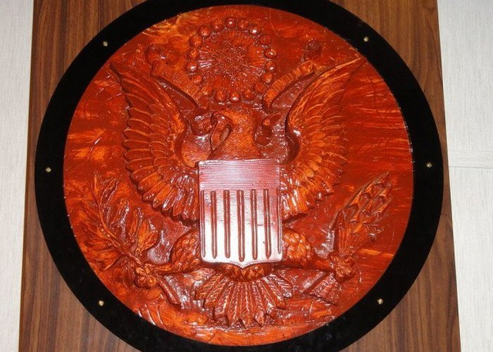 Дар советских пионеров послу США.