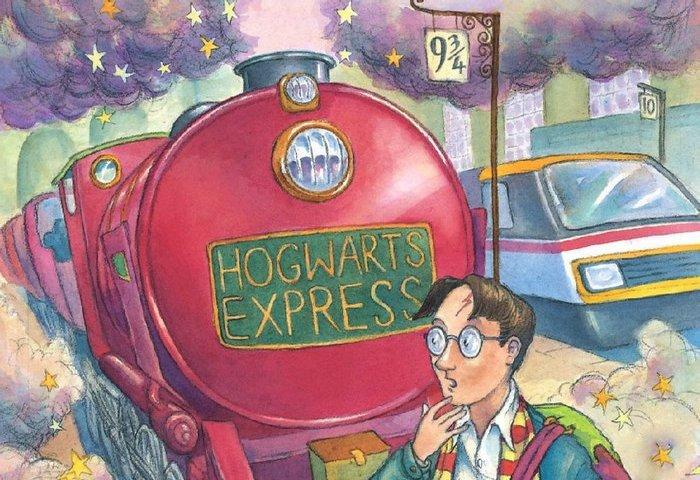 Гарри Поттер и философский камень.