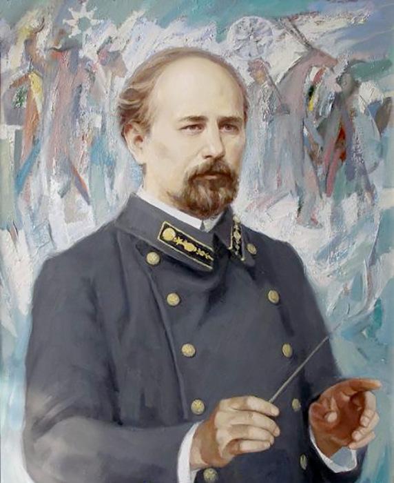 Автор «Щедрика» Николай Леонтович.