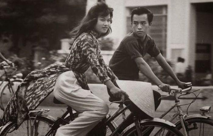 Мода в Южном Вьетнаме.